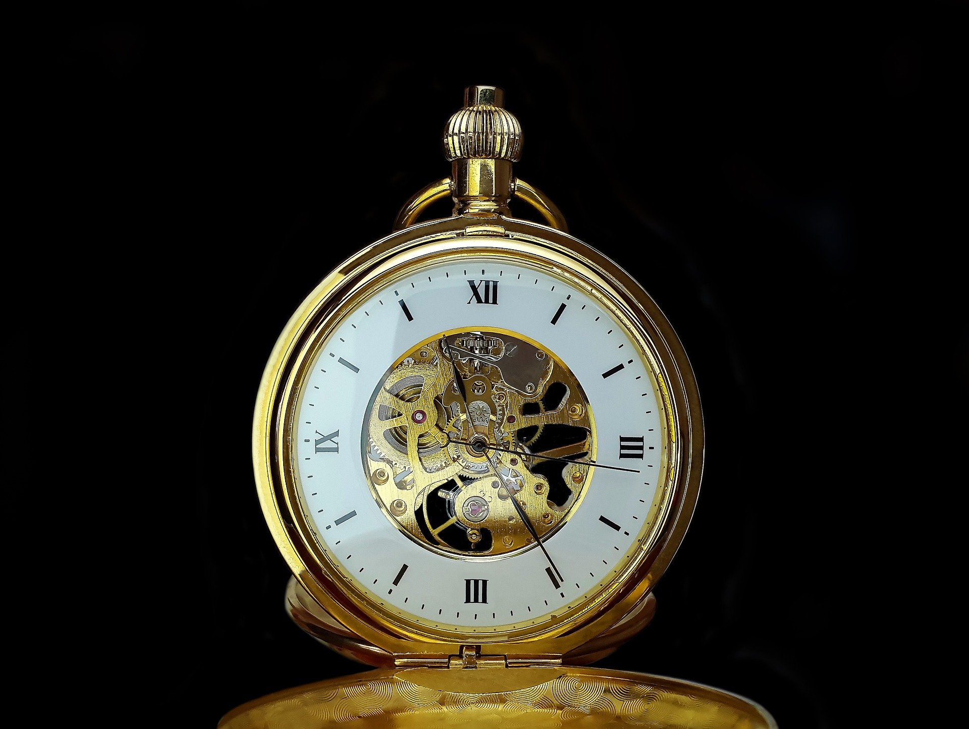 Goldbarren kaufen, Uhr
