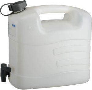 PRESSOL Wasserkanister Polyethylen mit Ablasshahn Inhalt 20 Liter