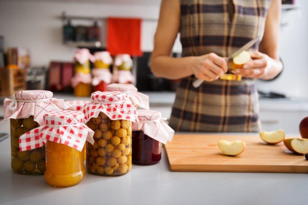 Lebensmittel haltbar machen und Vorrat anlegen