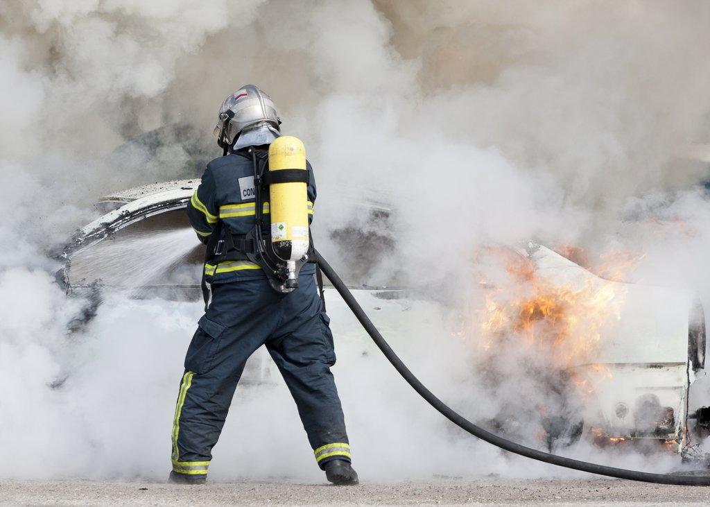 Krisenvorsorge Brandbekämpfung